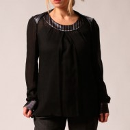 camicia lana viscosa