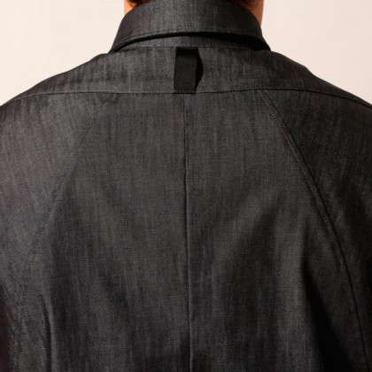 camicia cotone con spallone
